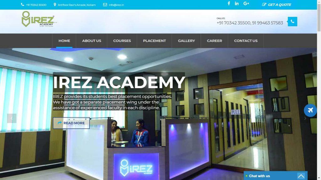 Irez academy, kollam, trivandrum, Kochi